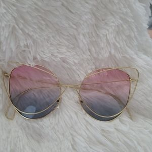Just Arrived 2919 Cat eye unique women sunglasses